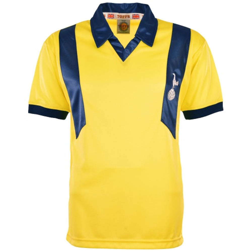 sale retailer 8f34c 519a8 Tottenham 1977-1980 Away Retro Football Shirt
