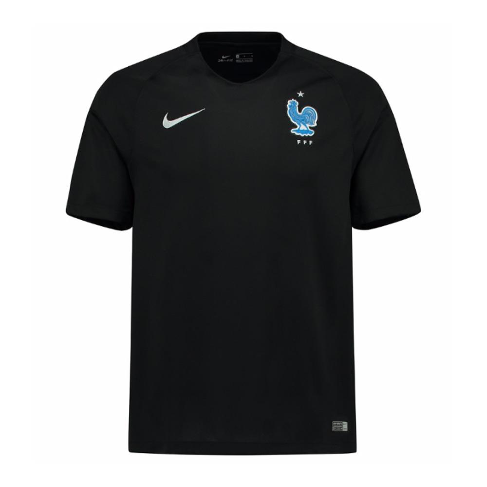 online retailer d63ce 89f79 2017-2018 France Away Nike Football Shirt