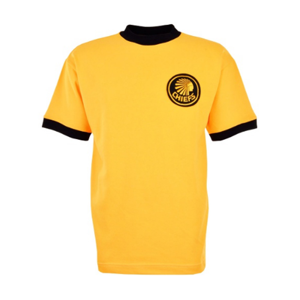 purchase cheap 25e05 0371a Kaizer Chiefs Retro Football Shirt