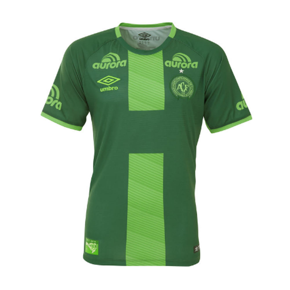 2016-2017 Chapecoense Umbro Third Football Shirt