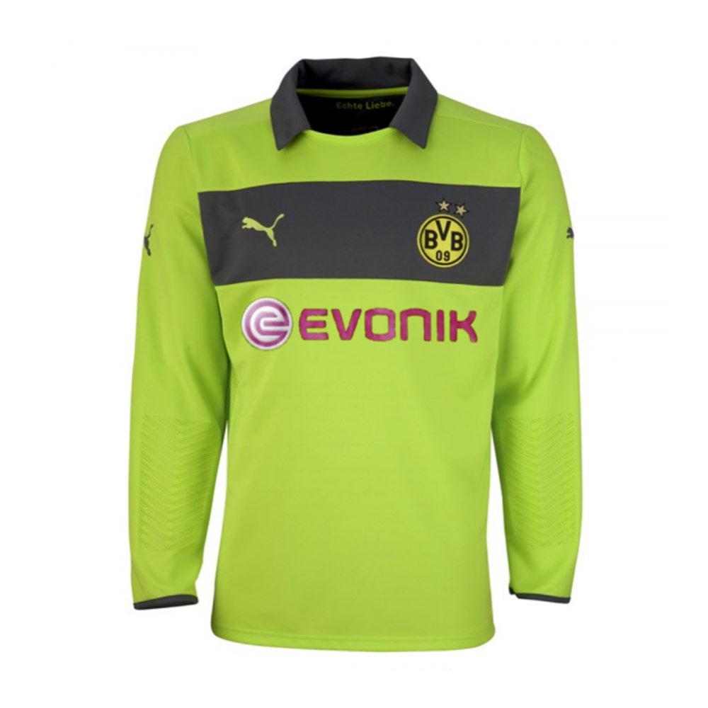 competitive price 4155e 24894 2012-2013 Borussia Dortmund Away Goalkeeper Shirt