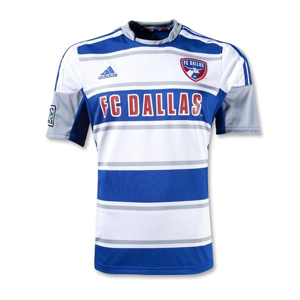 10a1221b061 adidas FC Dallas Mens SS Away Shirt 2012 | 7649AFPS-58 | FOOTY.COM
