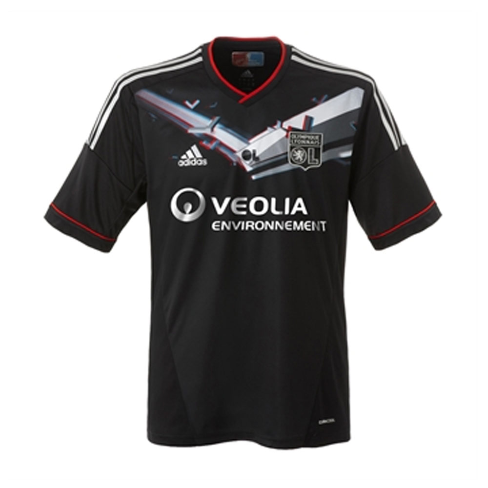 dd8f8df4653 2012-2013 Olympique Lyon Adidas Special Edition 3D Third Football Shirt []  - Uksoccershop