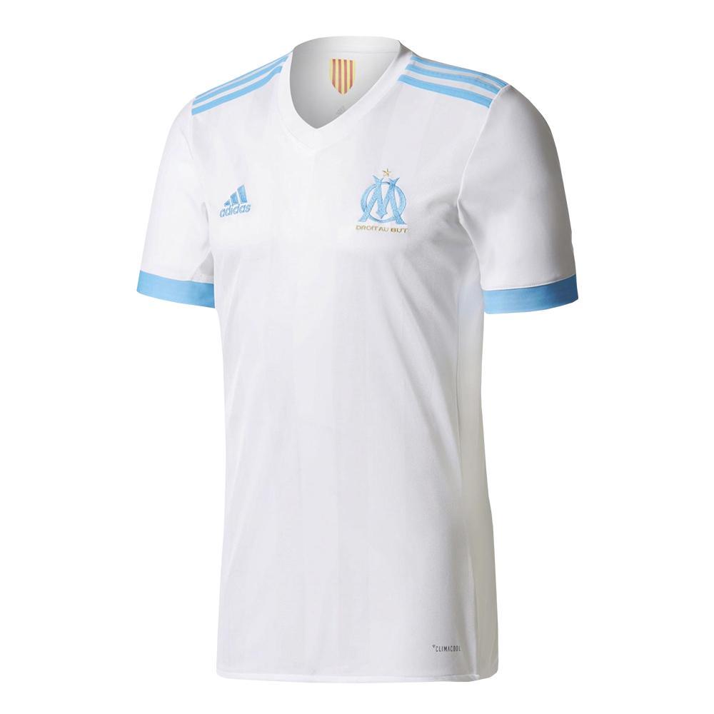 timeless design 2bb06 4bc4b 2017-2018 Olympique Marseille Adidas Home Football Shirt (Kids)