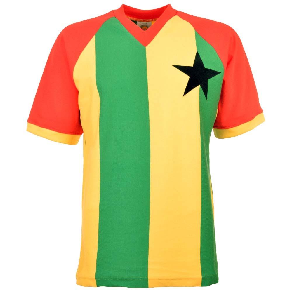 san francisco dcf7c 6fe86 Ghana 1980s Retro Football Shirt