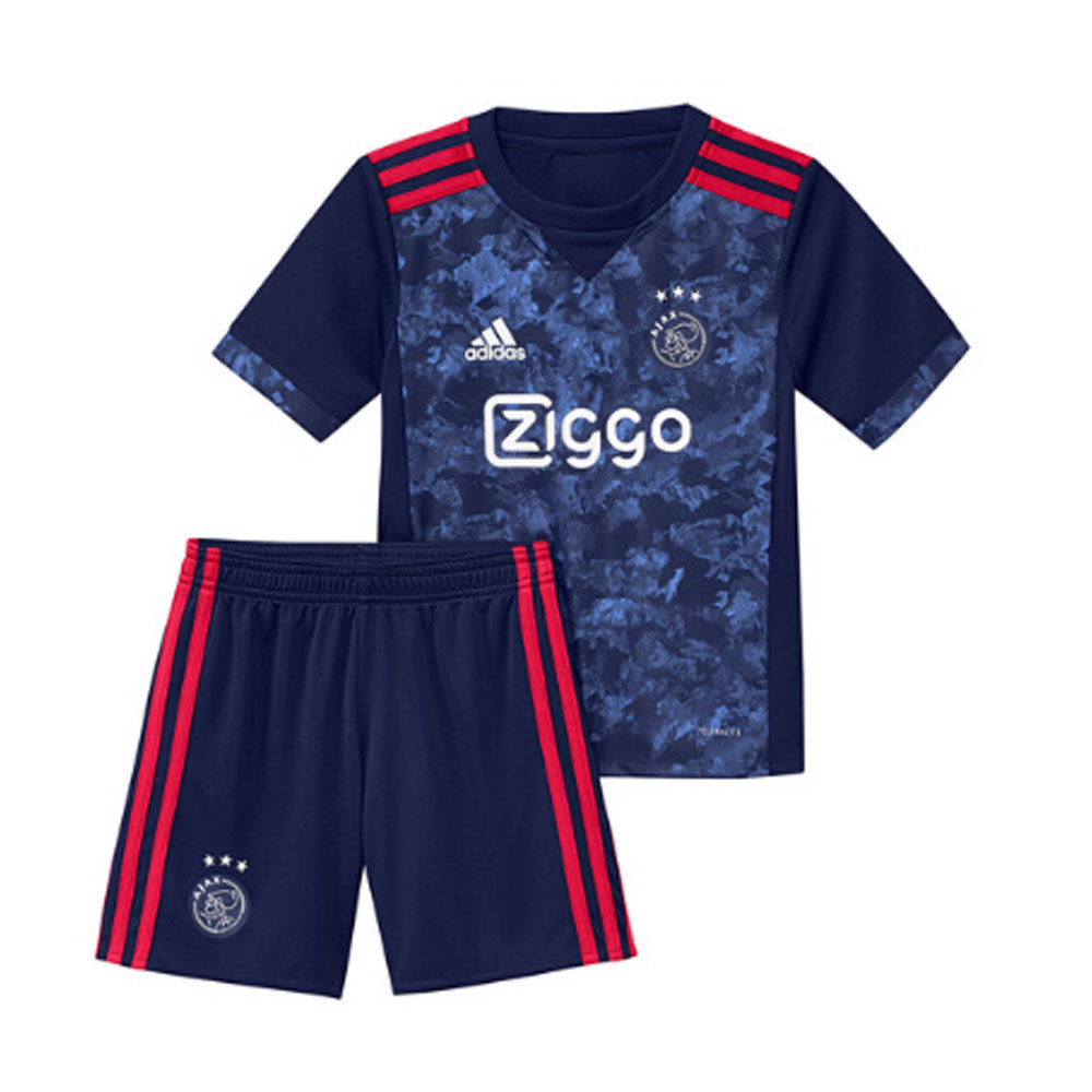 23beb2a32 2017-2018 Ajax Adidas Away Mini Kit  AZ7879  - Uksoccershop