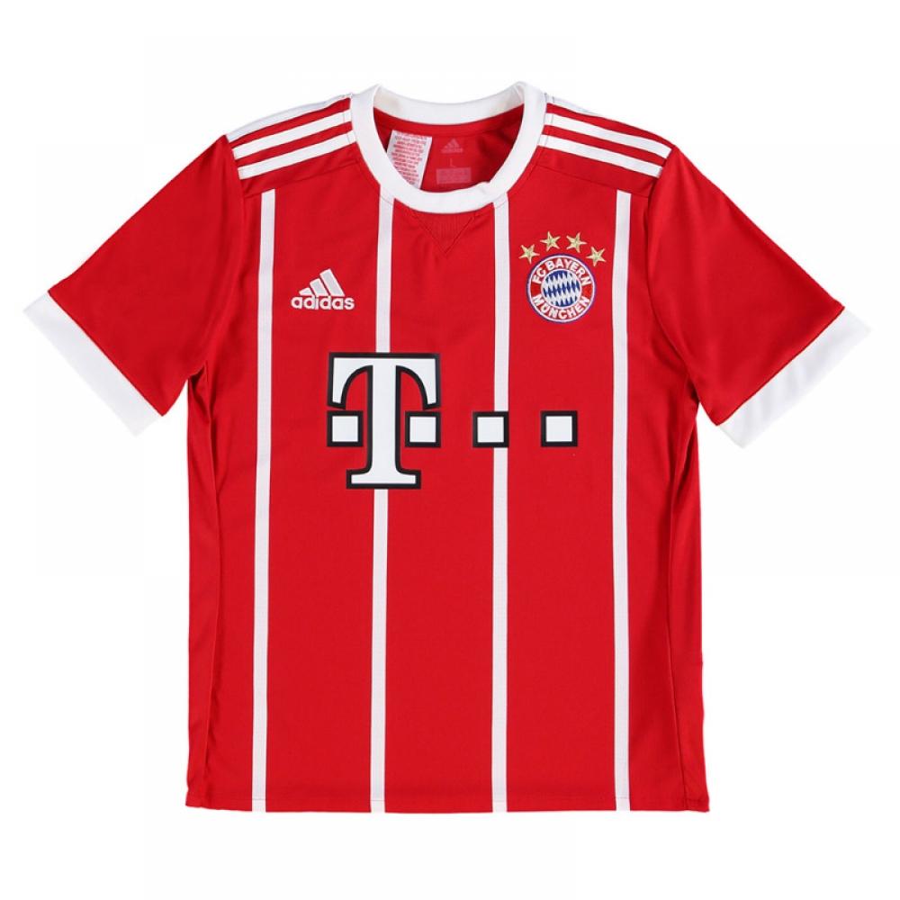 outlet store ec35a 484f2 2017-2018 Bayern Munich Adidas Home Shirt (Kids)
