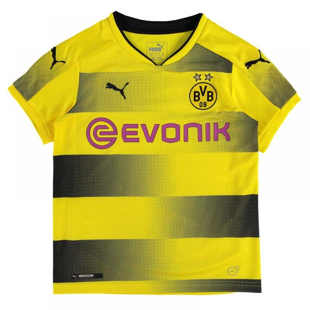 online store 00fbe 5c9ca 2017-2018 Borussia Dortmund Home Puma Shirt (Kids)
