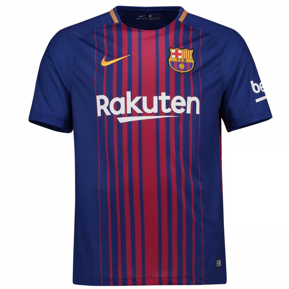 78f3f5f3e6b 2017-2018 Barcelona Home Nike Shirt (Kids)  847387-456  - Uksoccershop