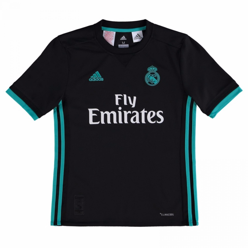 ab442db72 2017-2018 Real Madrid Adidas Away Shirt (Kids)  CF9579  - Uksoccershop