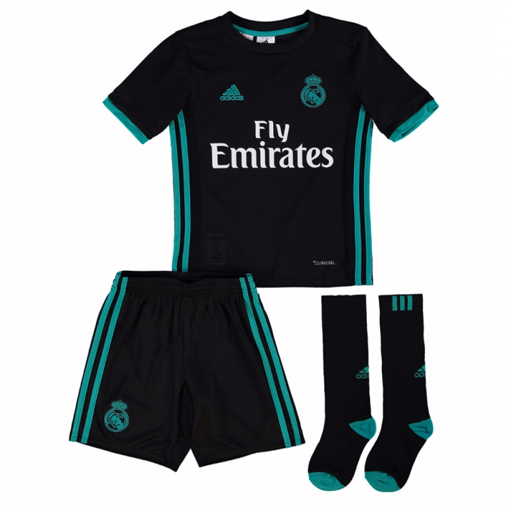 2017-2018 Real Madrid Adidas Away Full Kit (Kids)  B31094  - Uksoccershop dcb04b15e