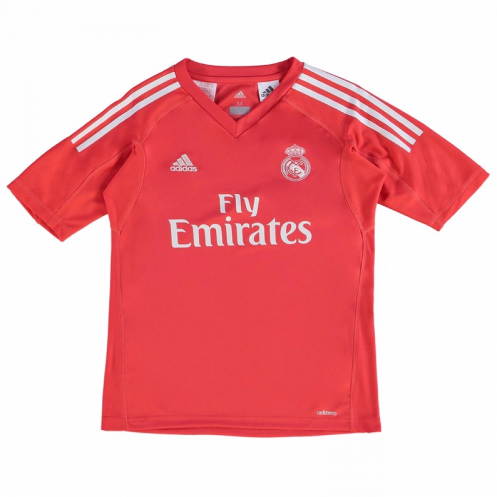 2017-2018 Real Madrid Adidas Away Goalkeeper Shirt (Kids)  B31085  -  Uksoccershop ecc57b508