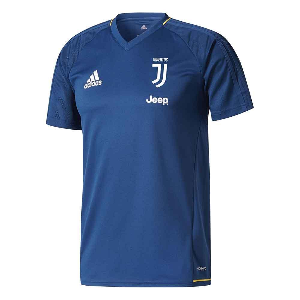 check out 609e1 cfd0e 2017-2018 Juventus Adidas Training Shirt (Blue)