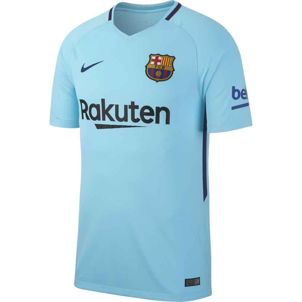 sports shoes eea4c 4628d 2017-2018 Barcelona Away Nike Shirt (Kids)