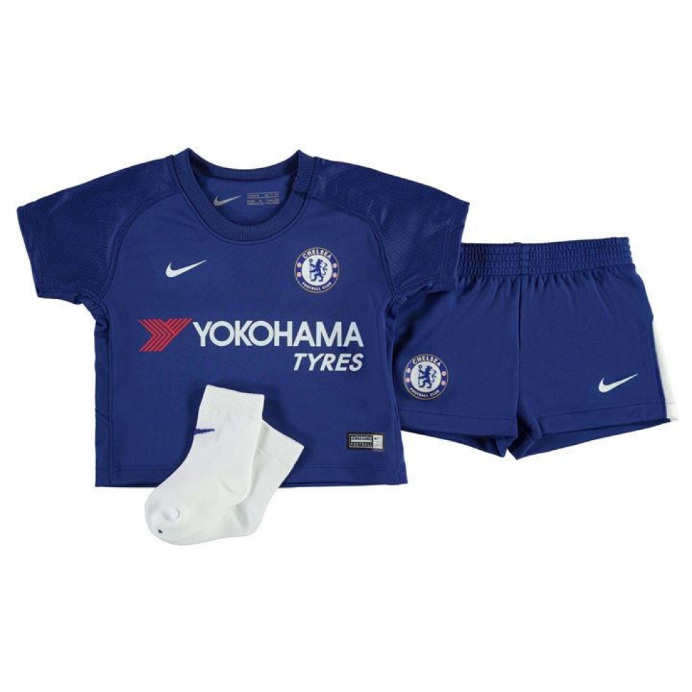 new concept 09c32 986a0 2017-2018 Chelsea Home Nike Baby Kit