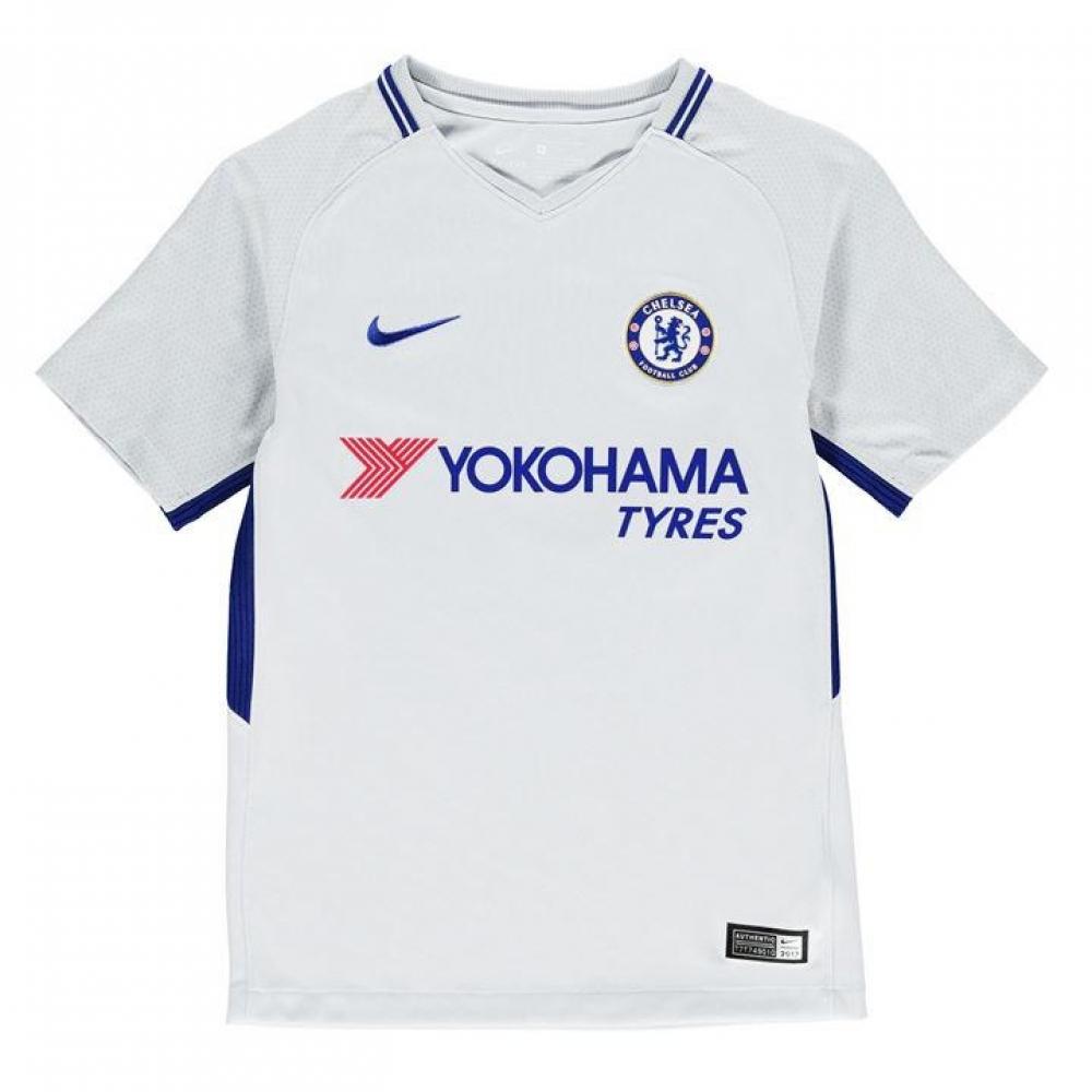 8eceb8cd 2017-2018 Chelsea Away Nike Football Shirt (Kids) [905540-044] -  Uksoccershop