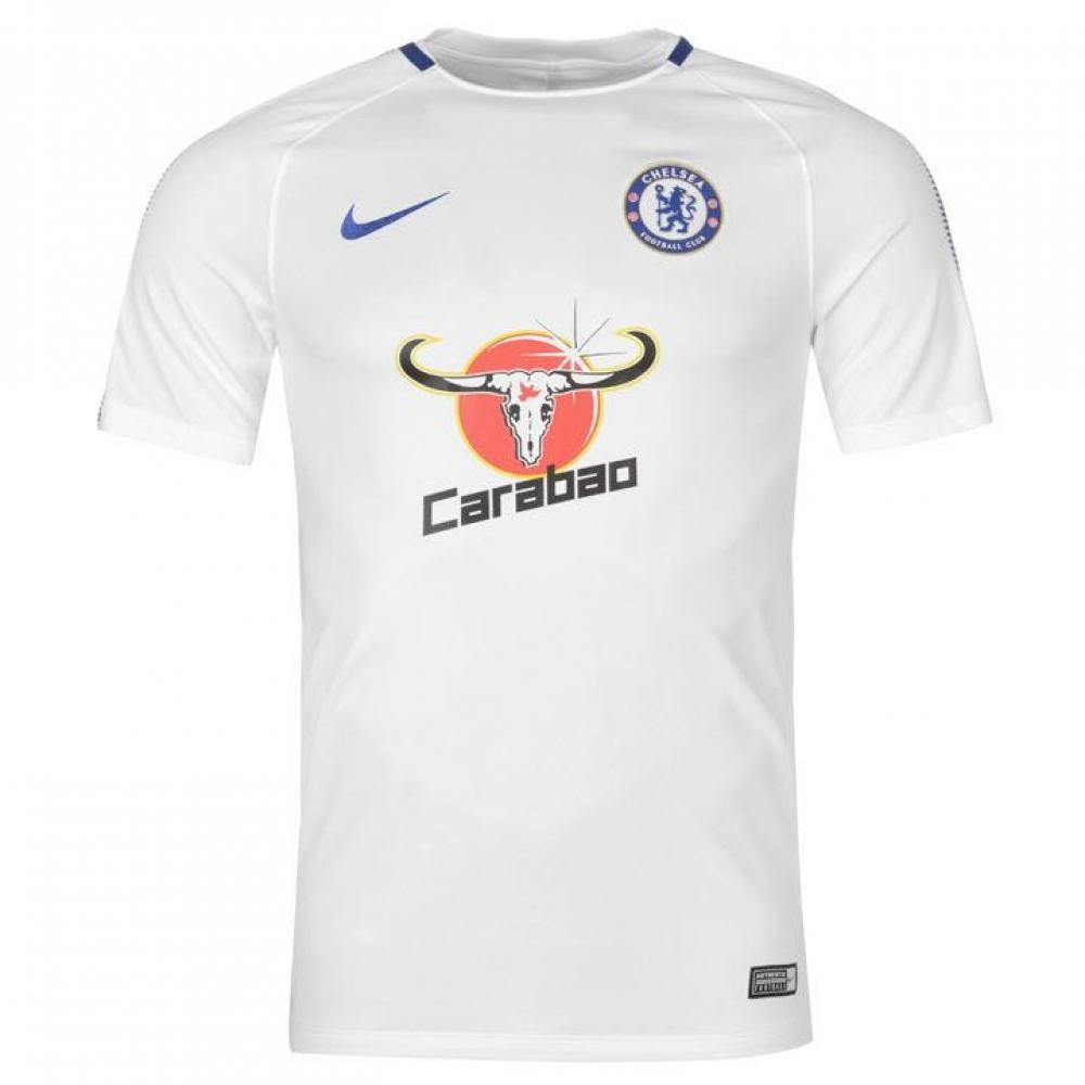2017-2018 Chelsea Nike Training Shirt (White)  905445-102  - Uksoccershop 9801e5c39