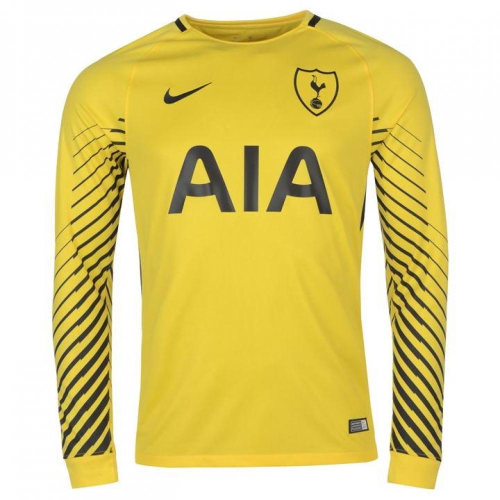 26959f0385e5 2017-2018 Tottenham Home Nike Goalkeeper Shirt (Yellow) - Kids  896331-720   - Uksoccershop