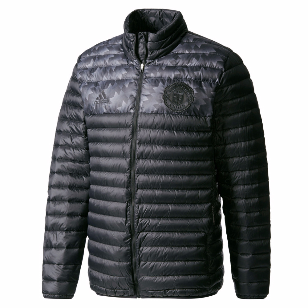 2017-2018 Man Utd Adidas Down Jacket (Black)