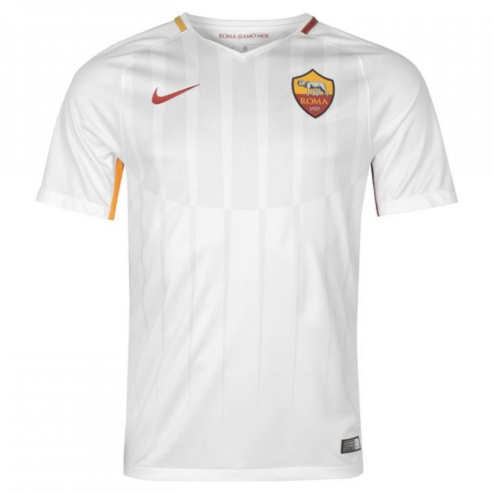 purchase cheap 2c1bd 50651 2017-2018 AS Roma Away Nike Football Shirt 847283-100 - Ukso