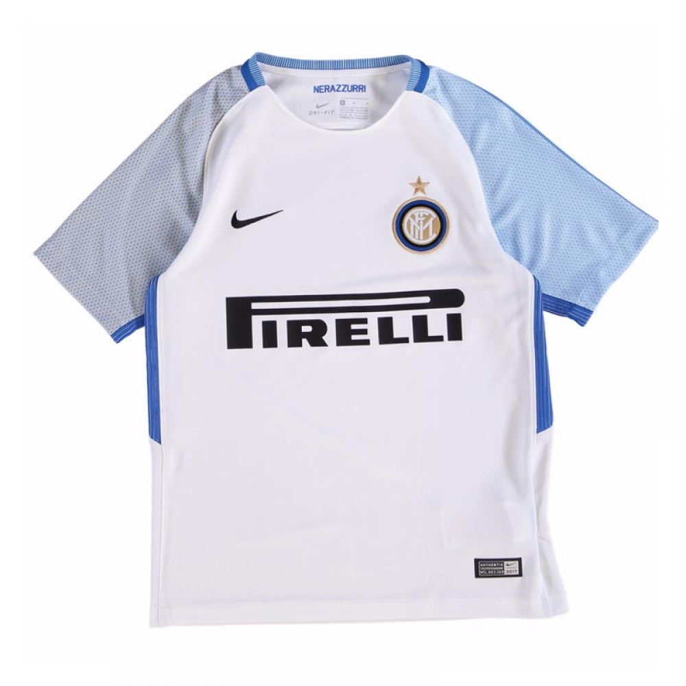 more photos ba4ba dae9b 2017-2018 Inter Milan Away Nike Football Shirt (Kids)