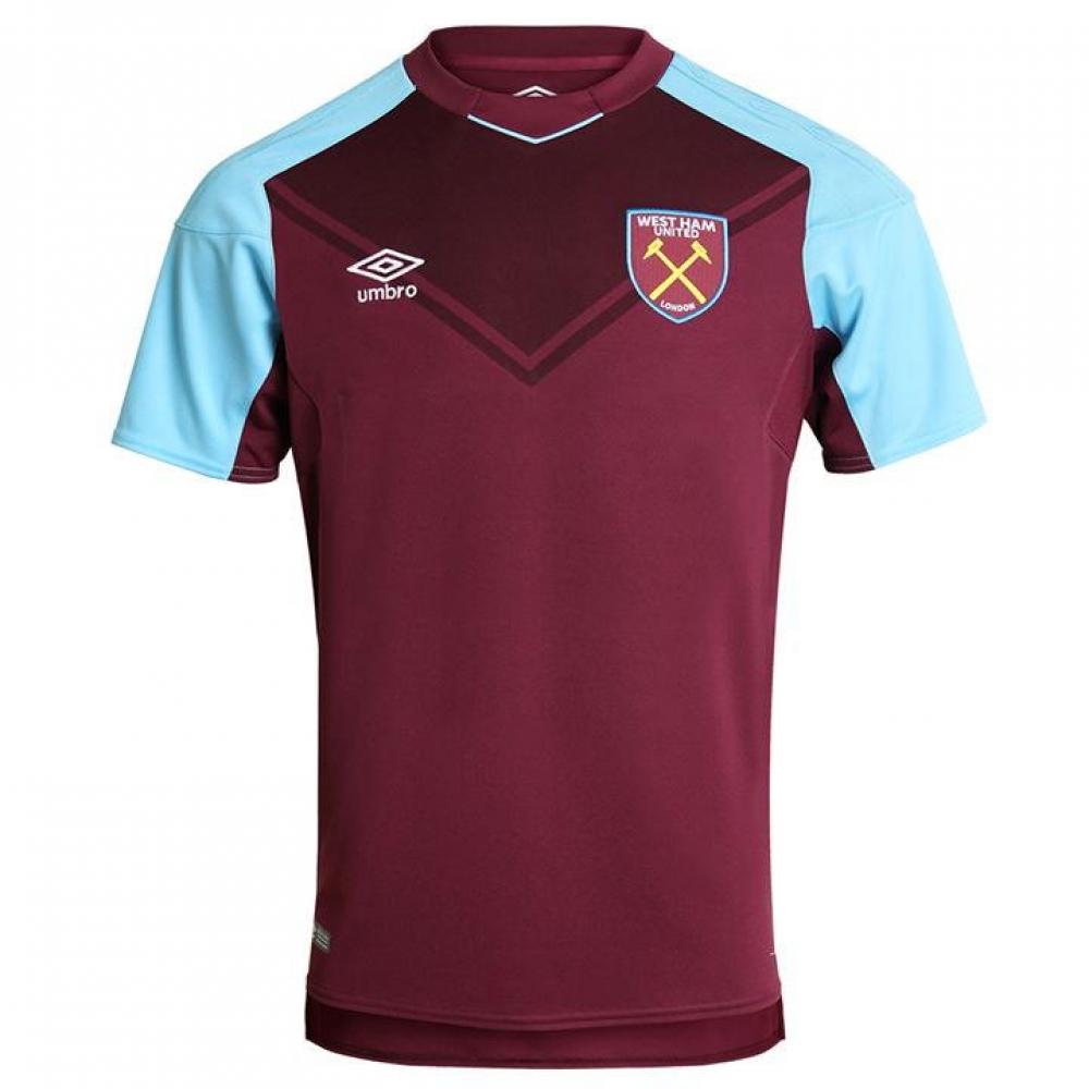 official photos 33494 be5e6 2017-2018 West Ham Home Football Shirt (Kids)