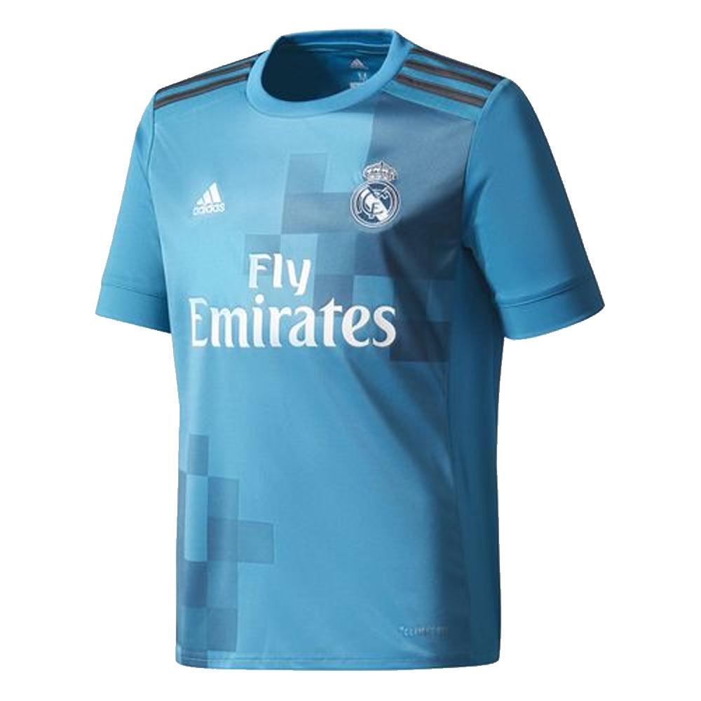 27a4fbe88 2017-2018 Real Madrid Adidas Third Shirt (Kids)  B31079  - Uksoccershop