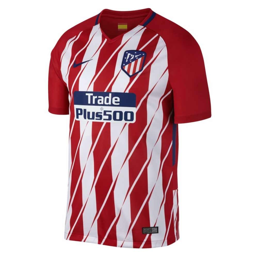 0722a81fb2e 2017-2018 Atletico Madrid Home Nike Football Shirt  847291-612  -  Uksoccershop