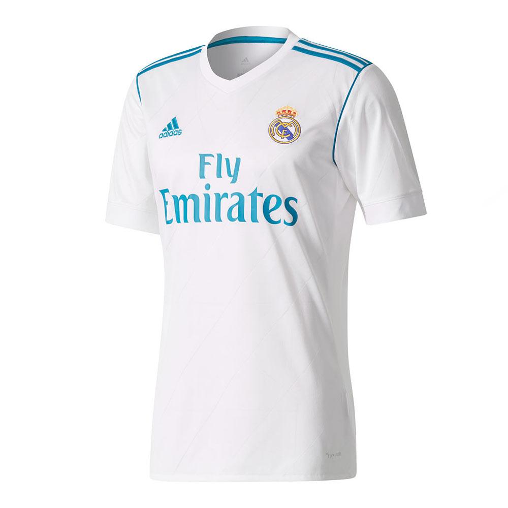 quality design c9a16 8b79d 2017-2018 Real Madrid Adidas Home Football Shirt