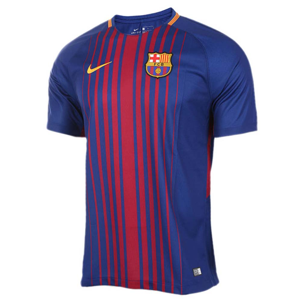 free shipping 07d20 3765a 2017-2018 Barcelona Home Nike Football Shirt (No Sponsor)