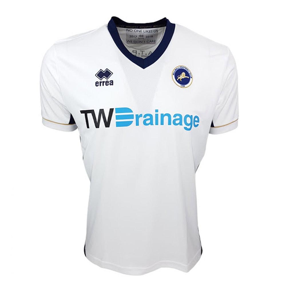 Errea Millwall Mens SS Away Shirt 2017/18 Image