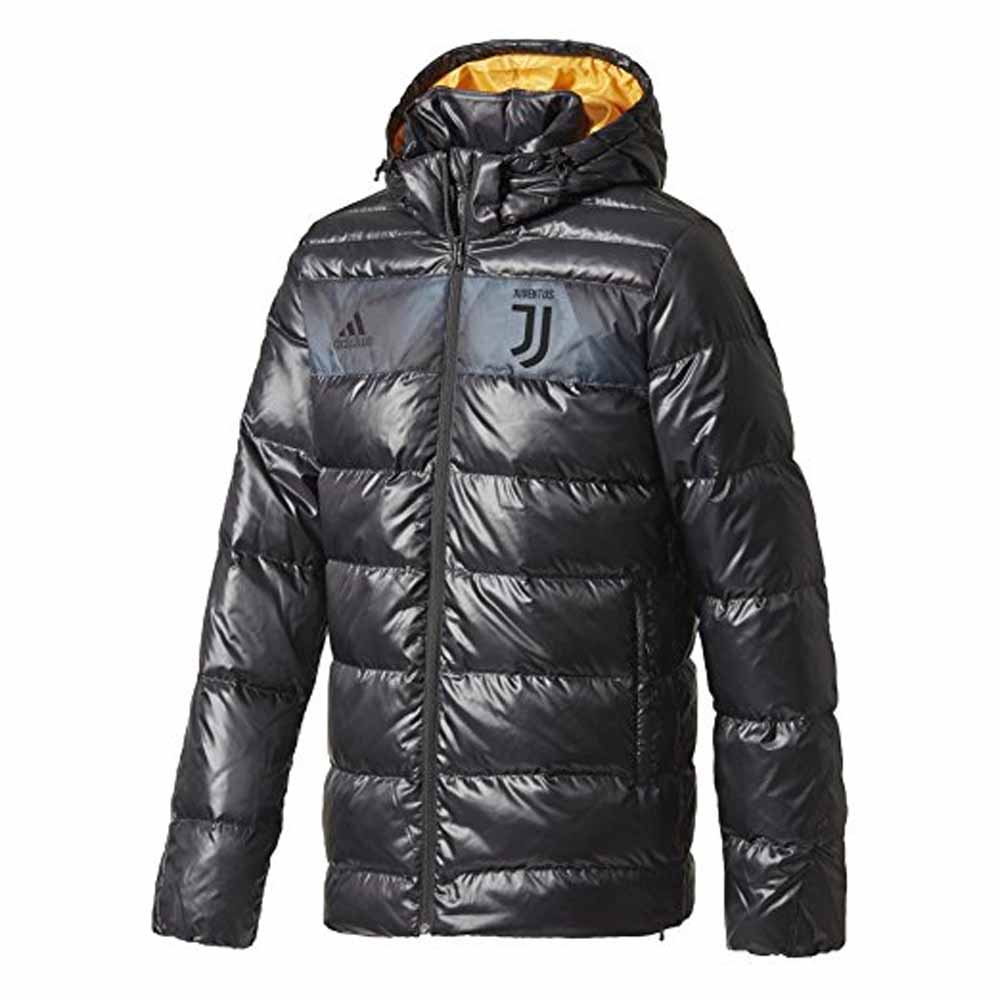 2017-2018 Juventus Adidas Down Jacket (Black)