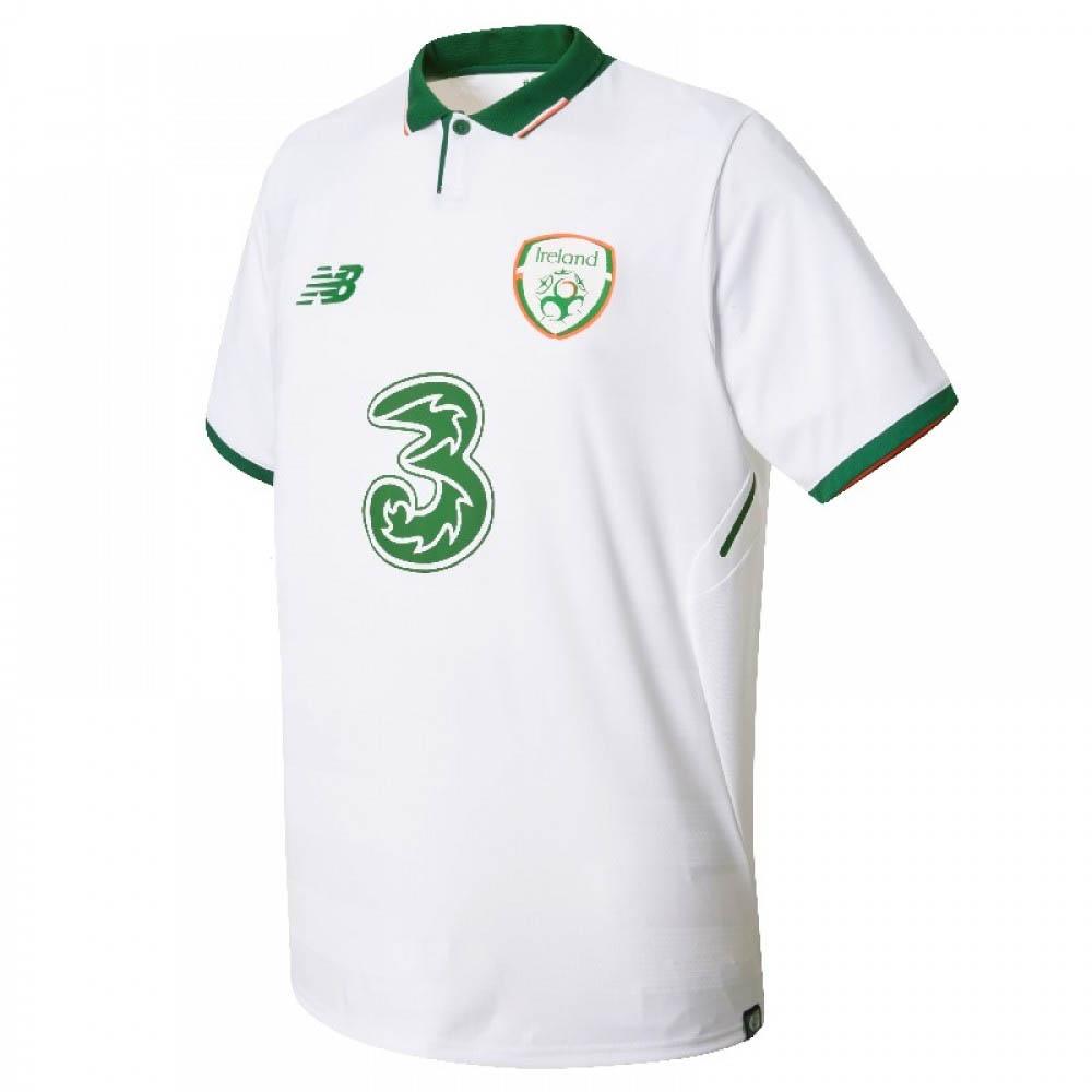2017-2018 Ireland Away New Balance Football Shirt (Kids)