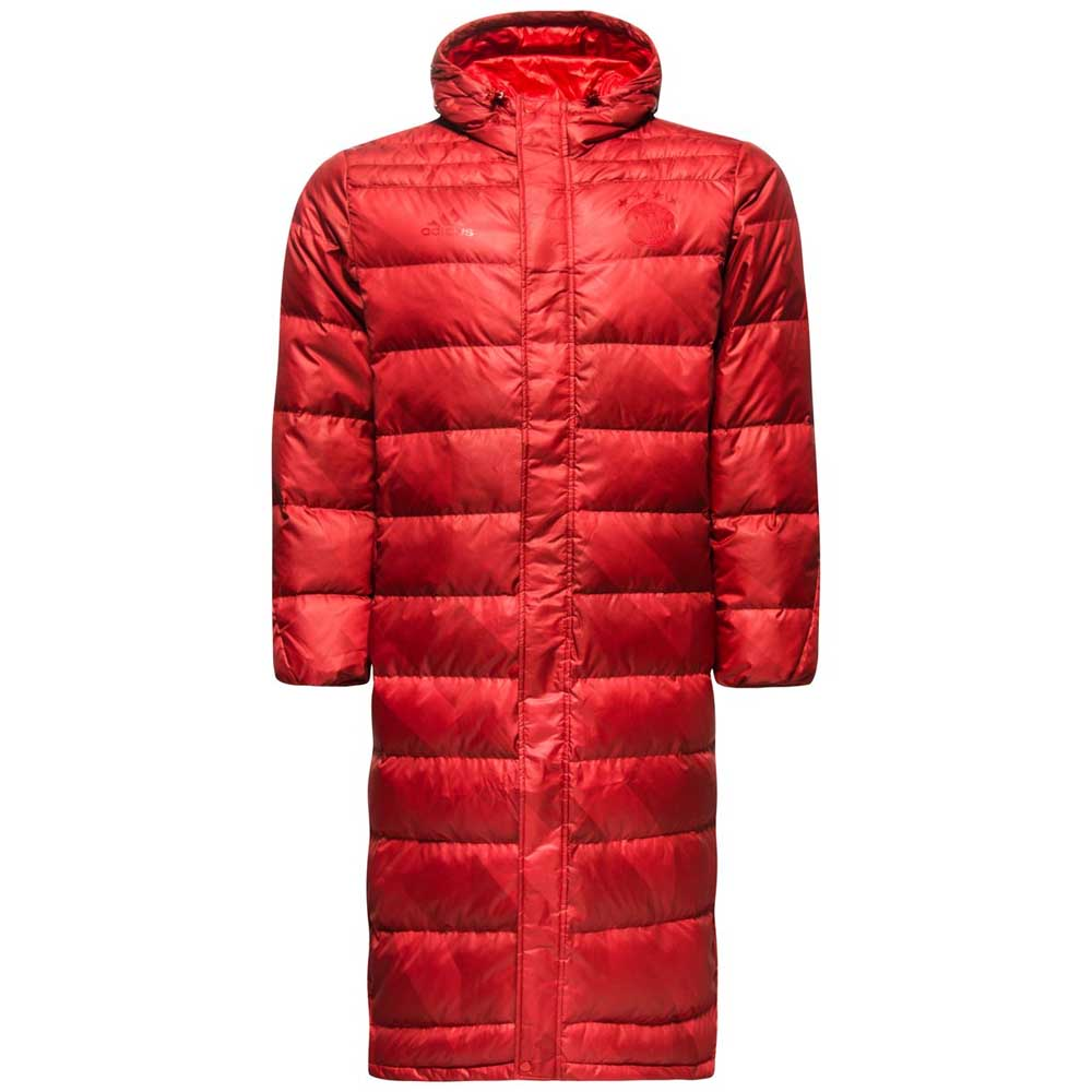 2017-2018 Bayern Munich Adidas SSP Down Jacket (Red)