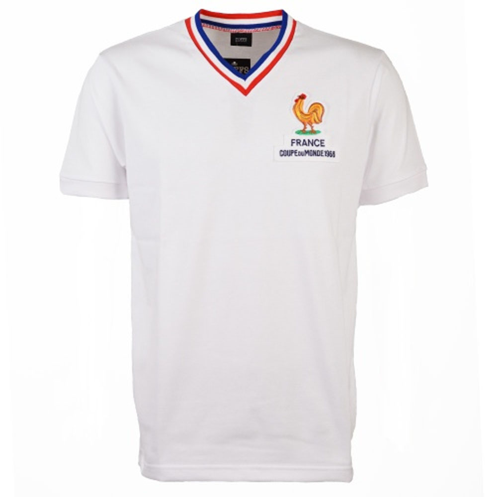low priced 38c03 e254f France 1966 World Cup Group 1 Retro Football Shirt
