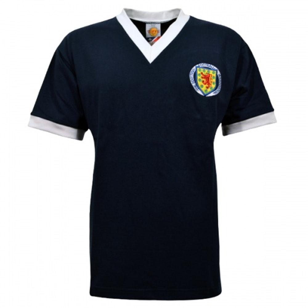 b414474e1 Scotland 1961-1962 Retro Football Shirt  TOFFS3068  - Uksoccershop
