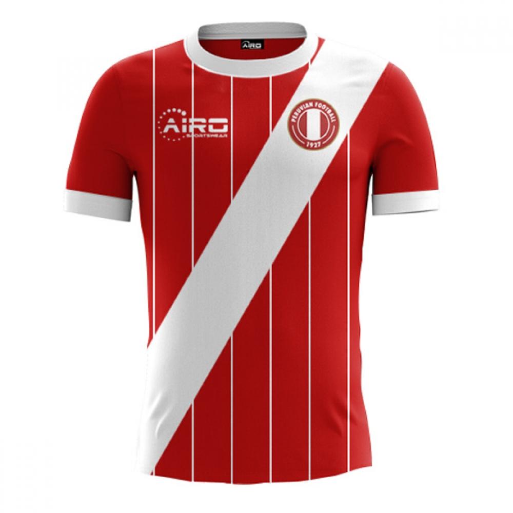 2017-2018 Peru Away Concept Football Shirt  PERUA  - Uksoccershop 047efd1333d5c