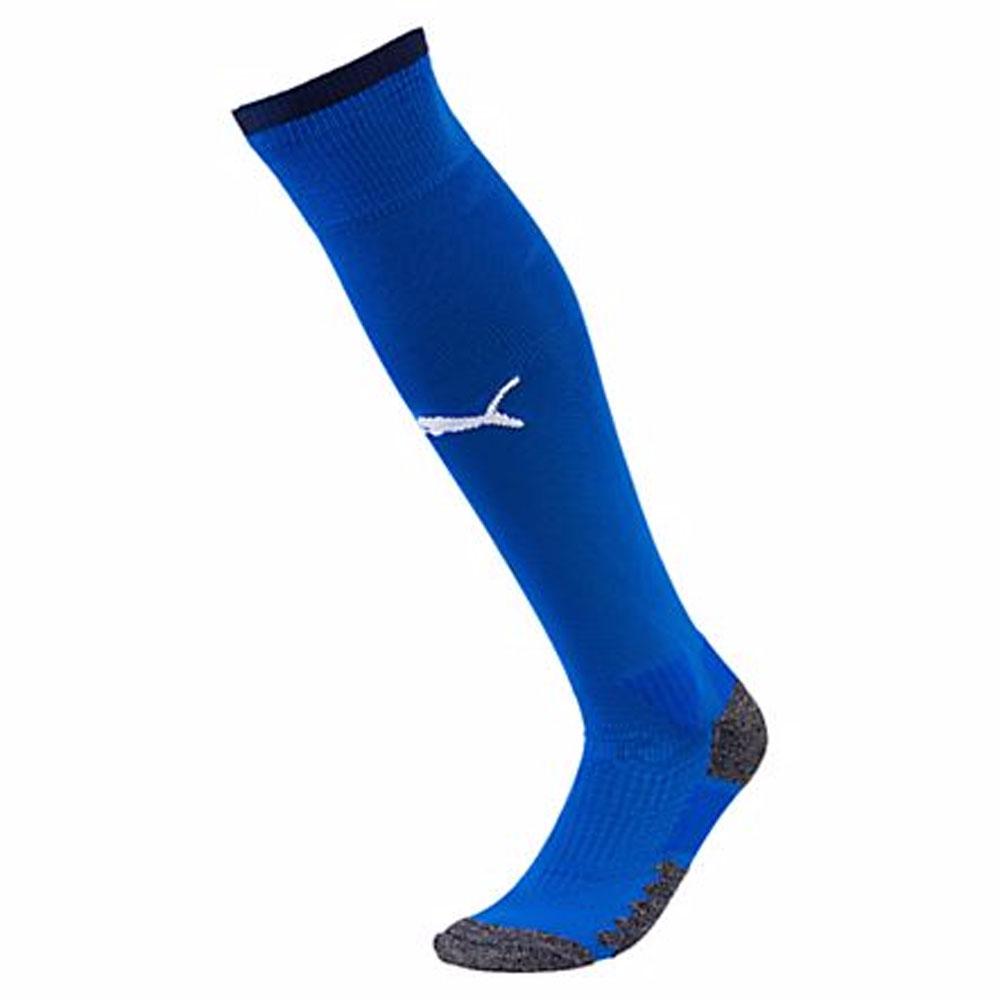 2018-2019 Italy Home Puma Football Socks (Blue)