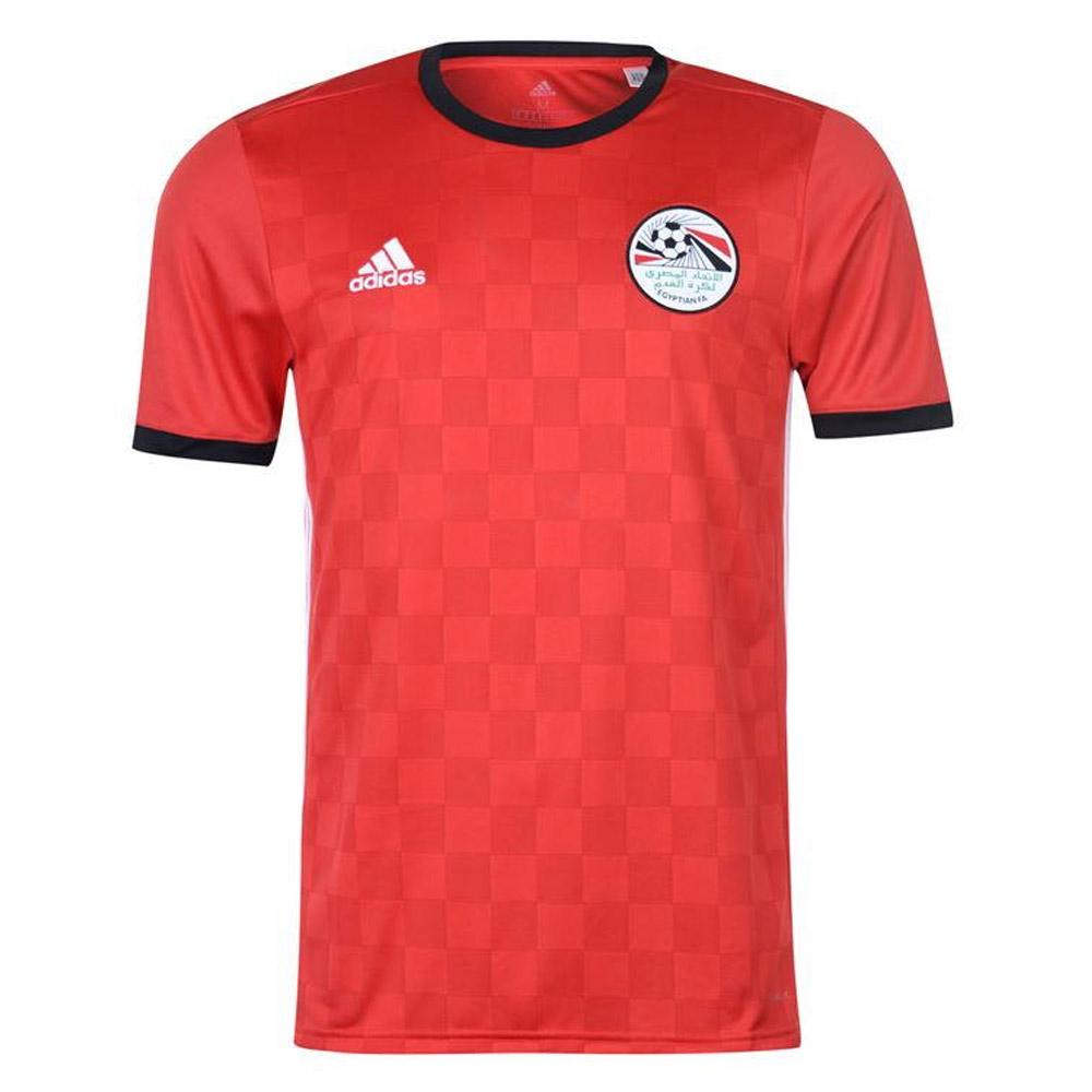 e6df1d385ca 2018-2019 Egypt Home Adidas Football Shirt  BR3730  - Uksoccershop
