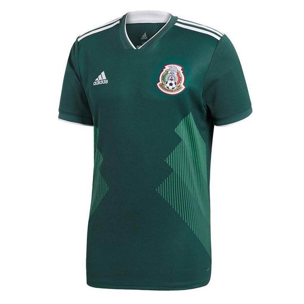 607c6c96fd4 2018-2019 Mexico Home Adidas Football Shirt [BQ4701] - Uksoccershop