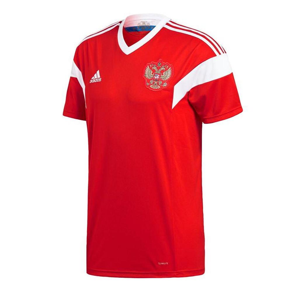 hot sale online a73b3 8c32a 2018-2019 Russia Home Adidas Football Shirt