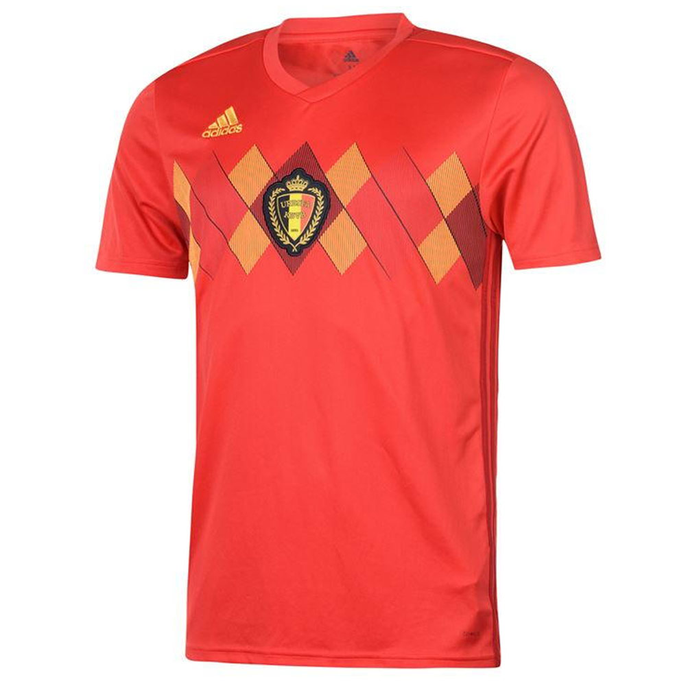 4b856249b7a 2018-2019 Belgium Home Adidas Football Shirt  BQ4520  - Uksoccershop