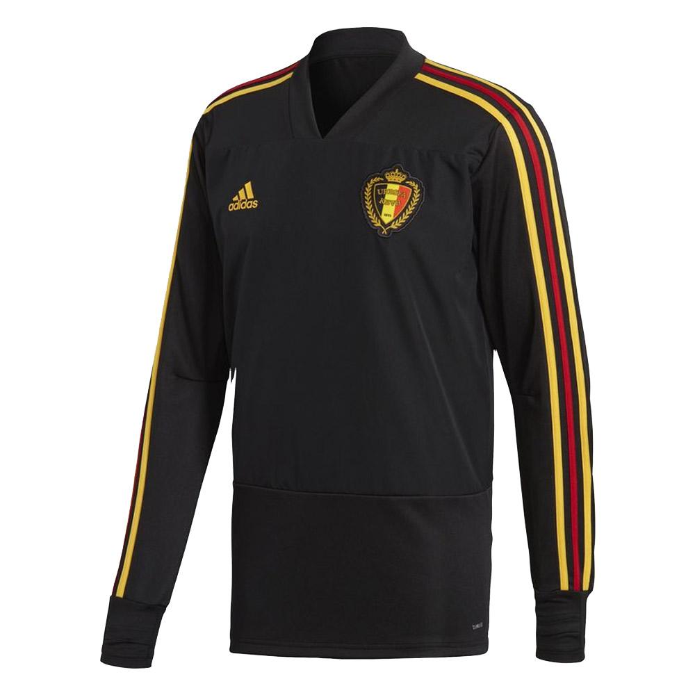 8bd931f30 2018-2019 Belgium Adidas Training Top (Black) [CD3604] - Uksoccershop