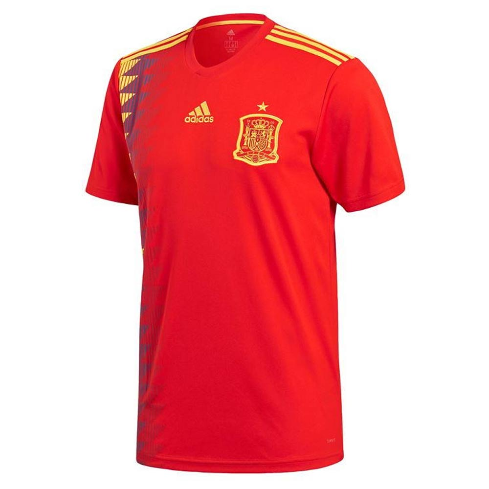 a46cb669455 2018-2019 Spain Home Adidas Football Shirt [CX5355] - Uksoccershop