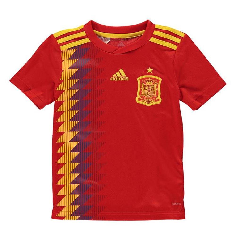 2018-2019 Spain Home Adidas Football Shirt (Kids)  BR2713  - Uksoccershop fdc63eb01