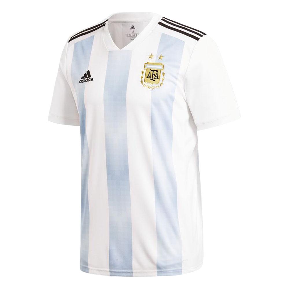 online retailer 581f7 0d0b8 2018-2019 Argentina Home Adidas Football Shirt (Kids)