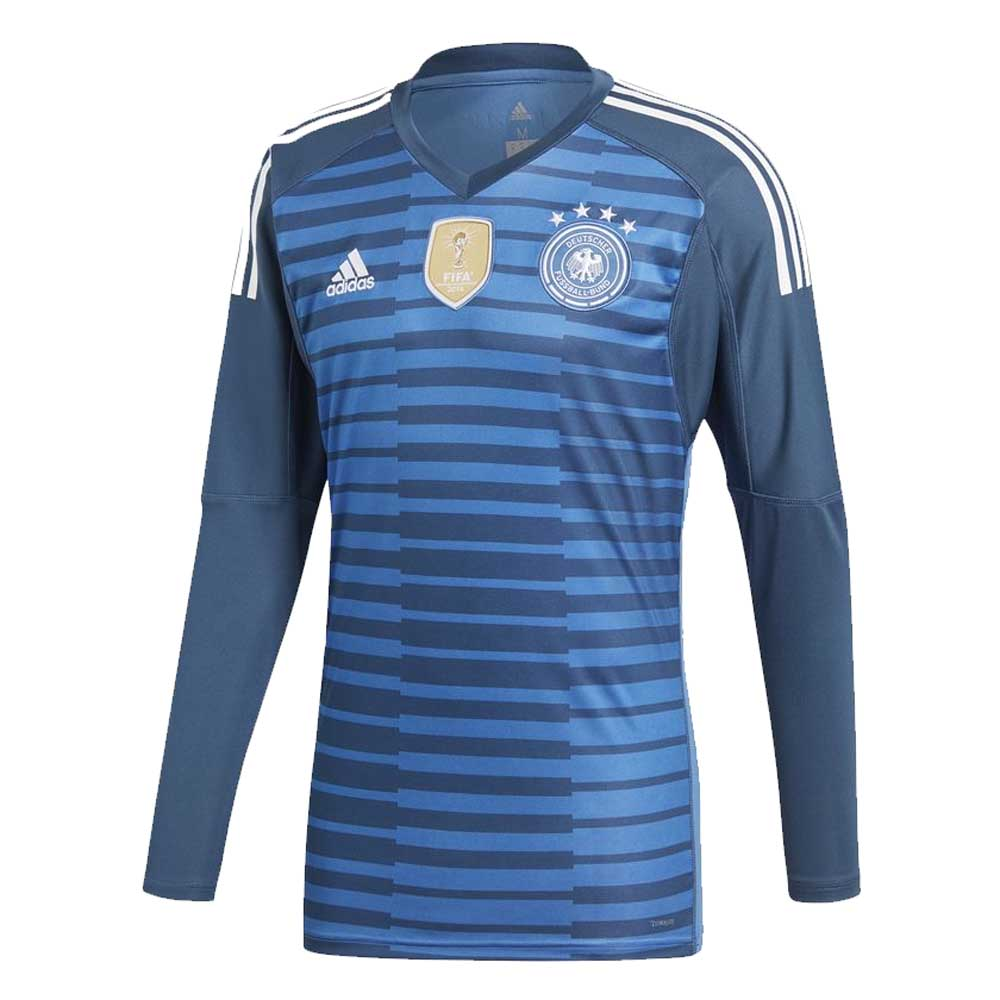 a13fc78c4d23 2018-2019 Germany Home Adidas Goalkeeper Shirt  BR7831  - Uksoccershop