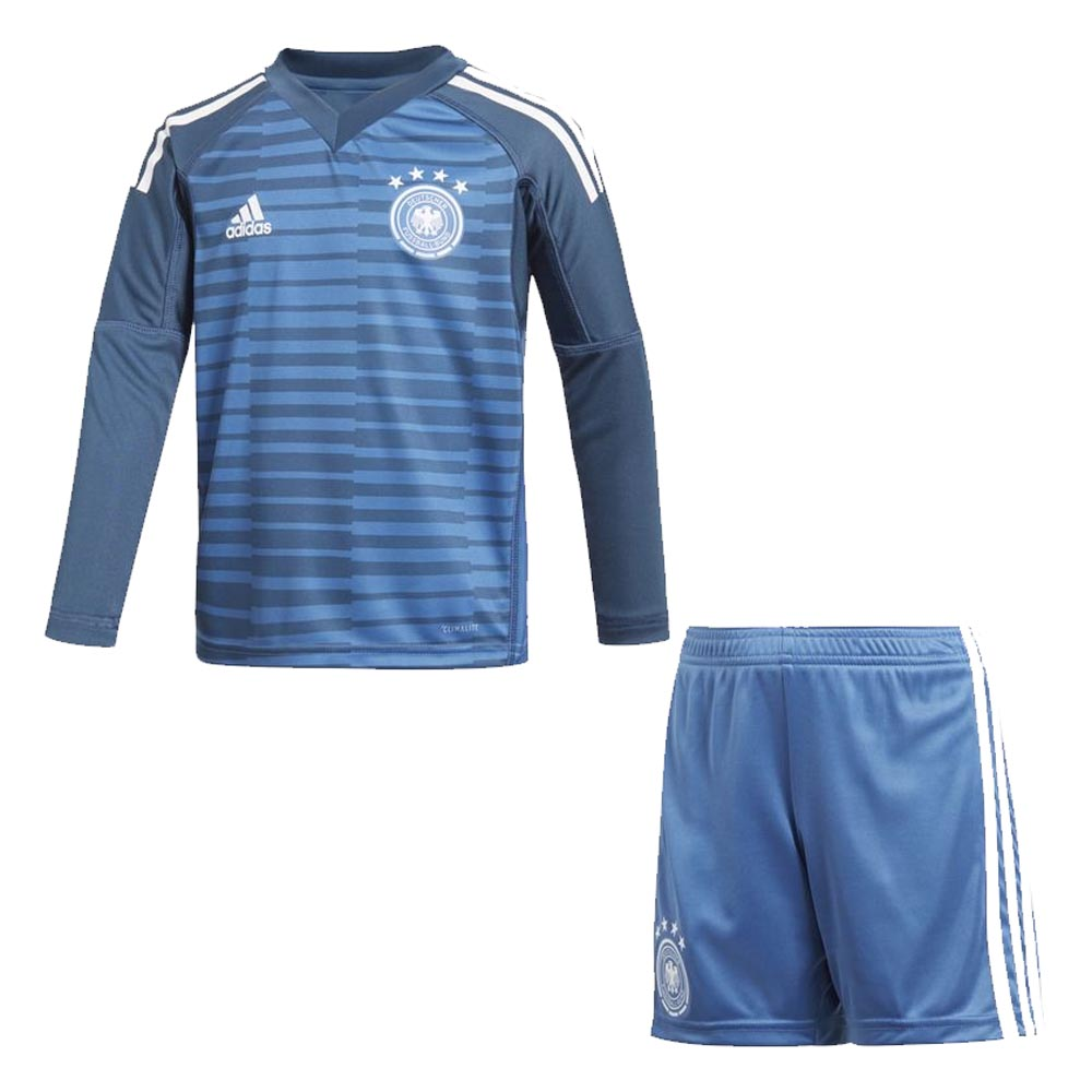 69b2fde37a6 2018-2019 Germany Home Goalkeeper Adidas Mini Kit  CE1725  - Uksoccershop
