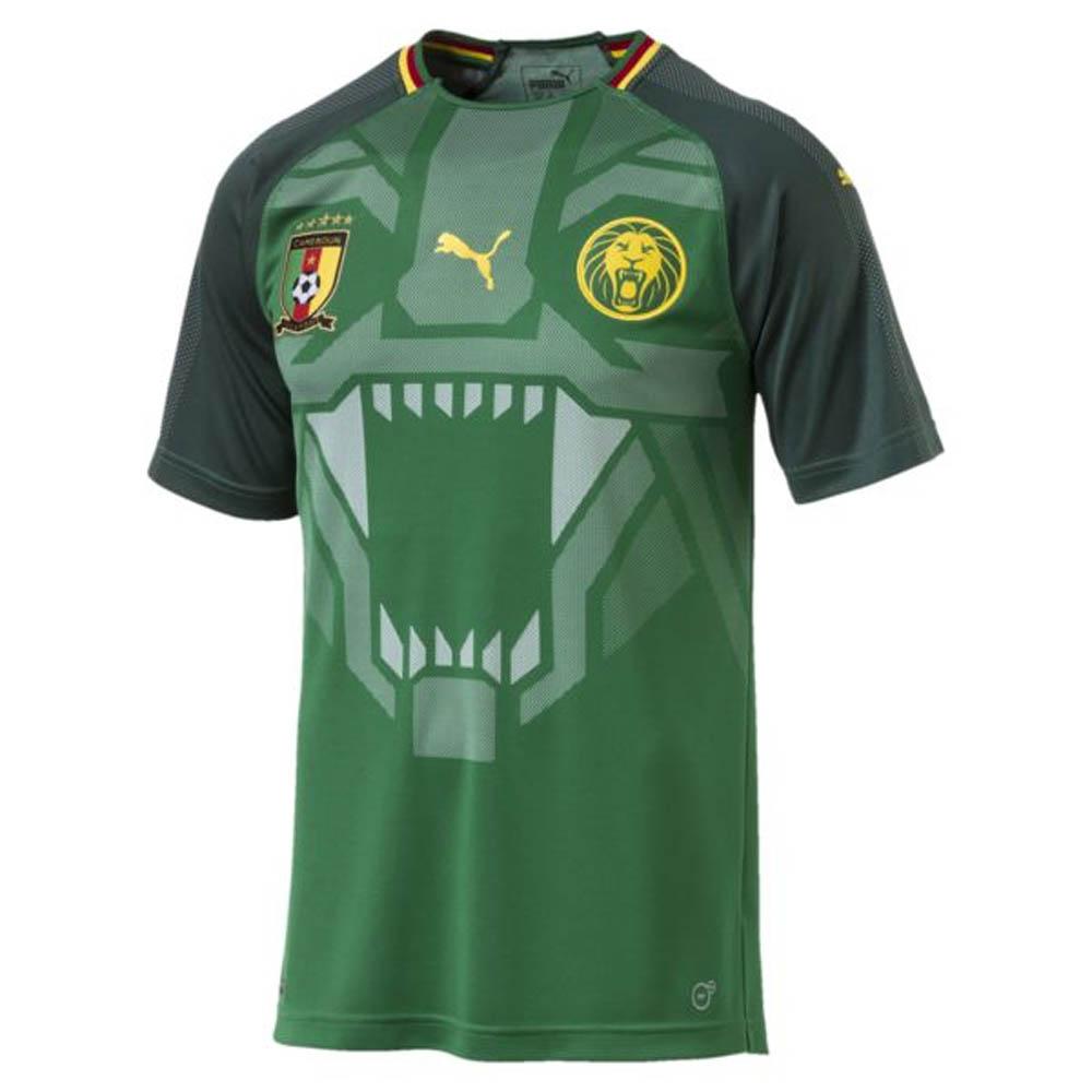 2018-2019 Cameroon Home Puma Football Shirt  75234201  - Uksoccershop c544568e1