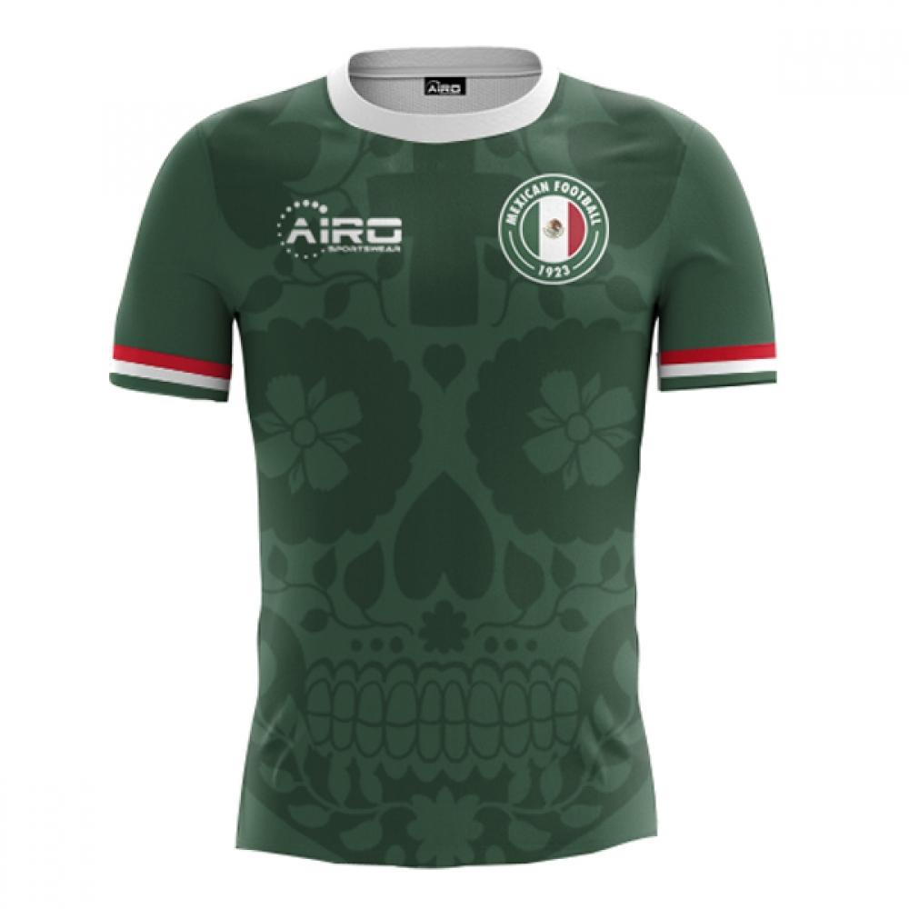 2018-2019 Mexico Home Concept Football Shirt  MEXICOH  - Uksoccershop 5d383635e
